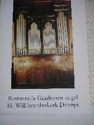 Restauratie Gradussen-orgel H. Willibrorduskerk Drempt